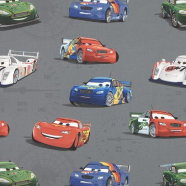 Cars Disney Fabric VELOCITY.57.140