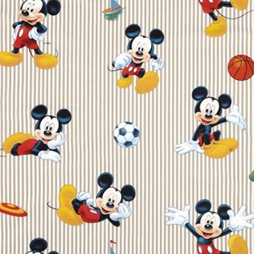 Disney Mickey Mouse Fabric SPORTMICK.13.140