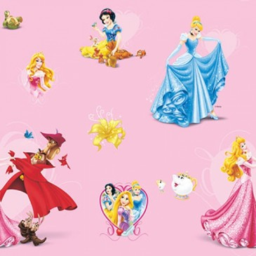 Disney Princess Fabric DIGLOVING.33.140