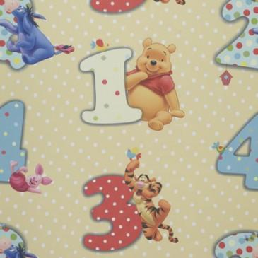 Disney Winnie the Pooh Fabric NUMBERVO.13.150