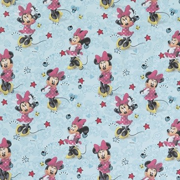 Disney Minnie Mouse Fabric DOODLE.38.140