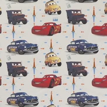 Cars Disney Fabric HORNET.11.140