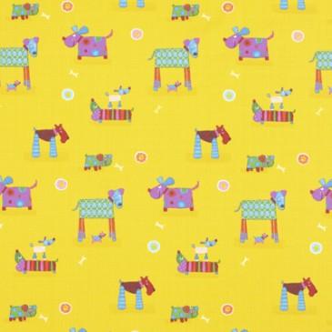 Fabric CHIENS.20.140