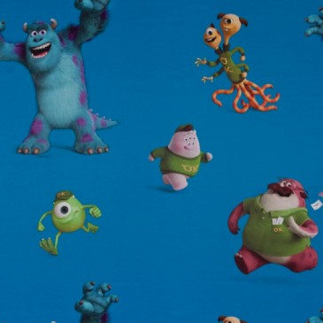Disney Monsters Inc Fabric SUNSULLEY.40.150