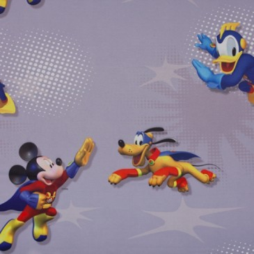 Disney Mickey Mouse Fabric SUNSUPER.55.150