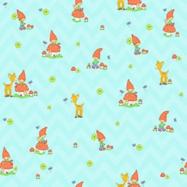 KidsFabrics Fabric DIGMUSH.38.140