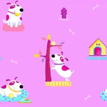 KidsFabrics Fabric DIGDOGIES.33.140