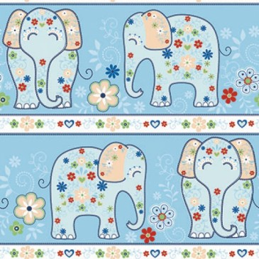 KidsFabrics Fabric DIGINDIA.40.140