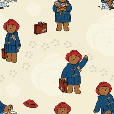 Paddington Bear Fabric DIGTRAVEL.13.140