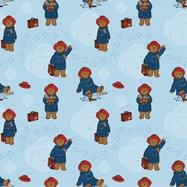 Paddington Bear Fabric DIGTRAVCO.38.140
