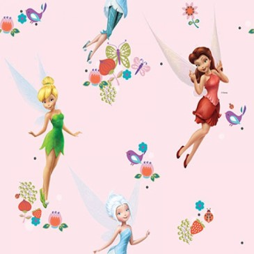 Disney Tinkerbell Fabric ELVES.33.140
