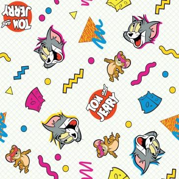 DC Comics Tom & Jerry Warner Bros Fabric CHEESE.330.140