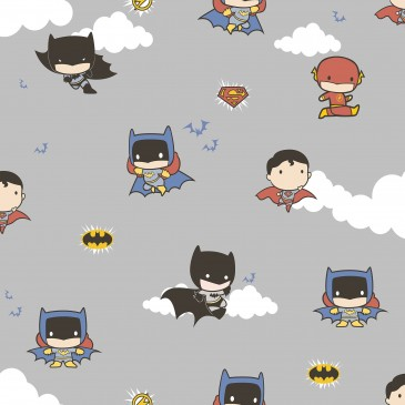 Batman DC Comics Superman Warner Bros Fabric CHIBI.530.140