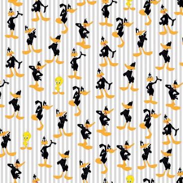 Looney Tunes Warner Bros Fabric DAFFY.540.140