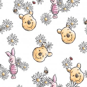 Disney Winnie the Pooh Fabric DAISY.100.140