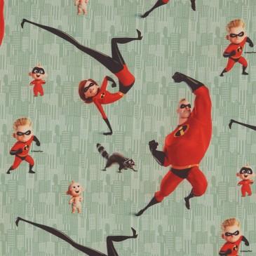 Disney The Incredibles Fabric DIBLE.441.140