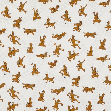 Scooby Doo Warner Bros Fabric DOGGIE.100.140