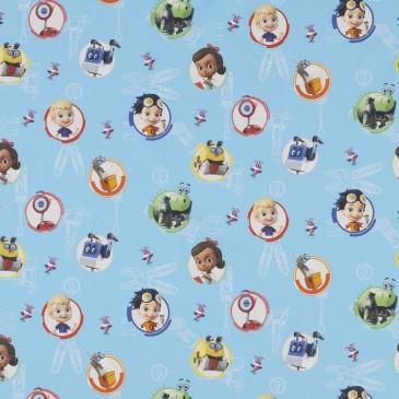 Nickelodeon Rusty Rivets Fabric RUSTY.400.140