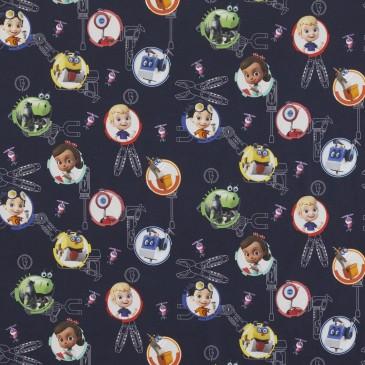 Nickelodeon Rusty Rivets Fabric RUSTY.420.140
