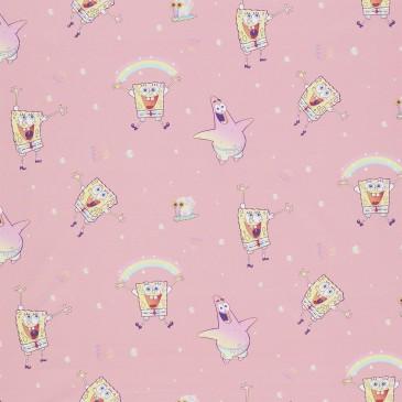 Nickelodeon Spongebob Squarepants Fabric WATERFUN.330.140