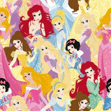Disney Princess Fabric ZARIA.990.140
